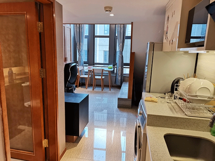 1 Bedroom Loft near line 4 subway station in Beijing